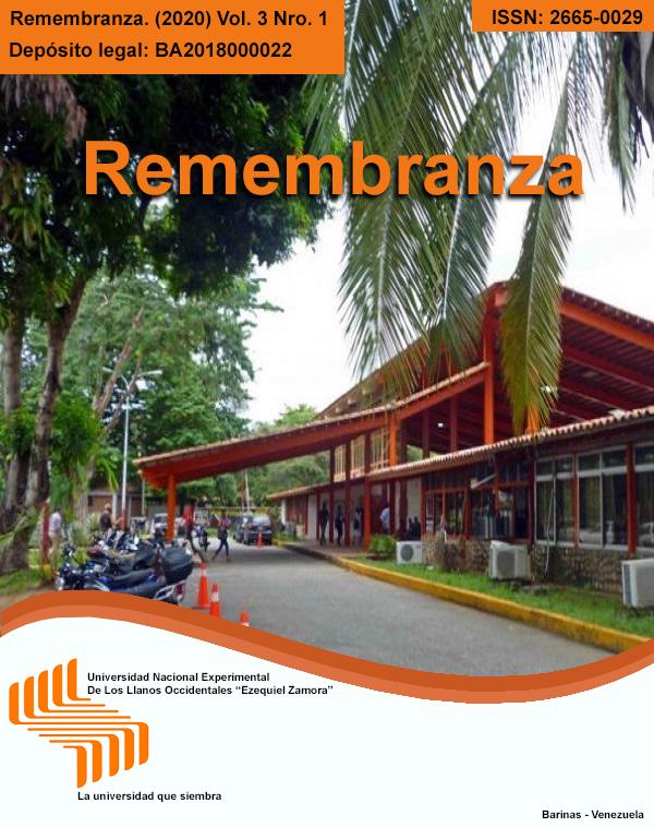 Ver Vol. 3 Núm. 1 (2020): Revista Remembranza