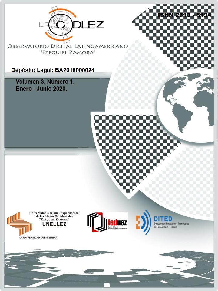 "Ver Vol. 3 Núm. 1 (2020): Revista del Observatorio Digital Latinoamericano ""Ezequiel Zamora"""