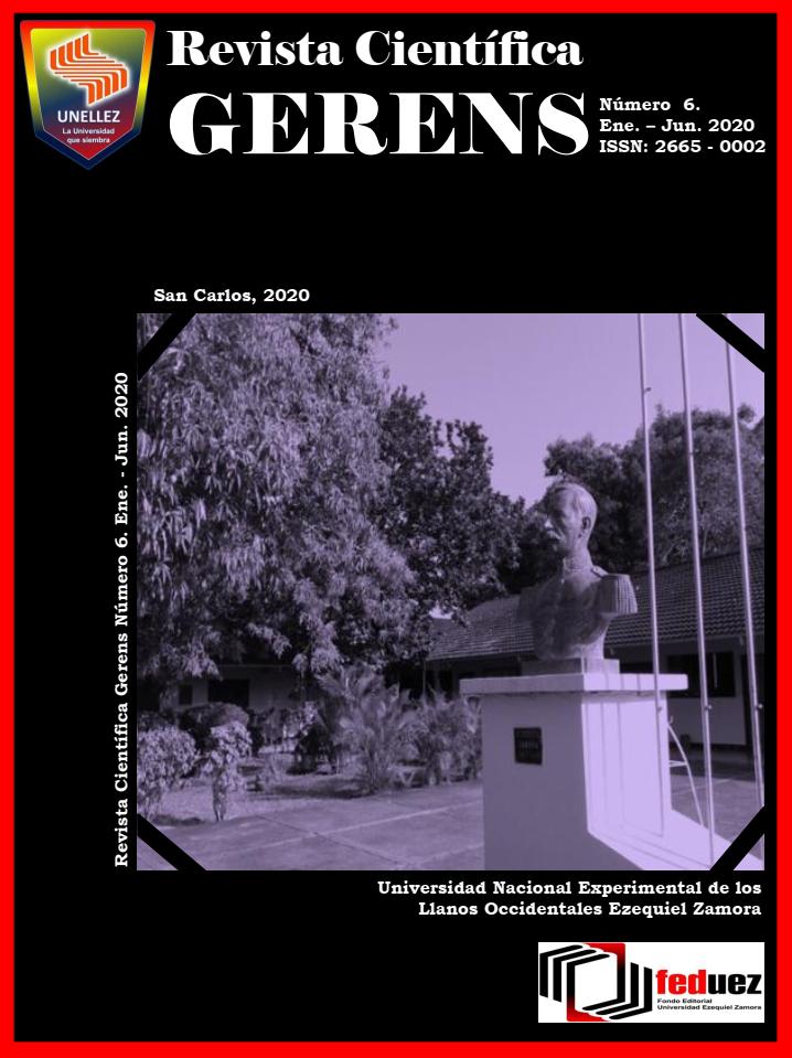 Ver Núm. 6 (2020): Revista Científica GERENS