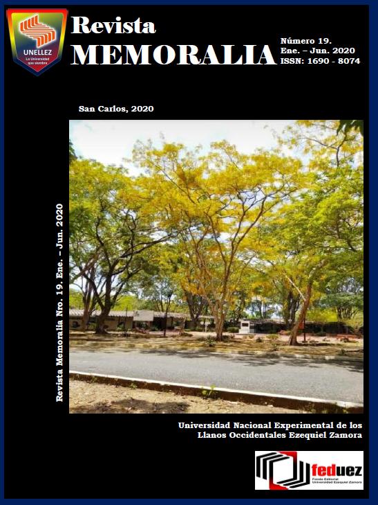 Ver Núm. 19 (2020): Revista MEMORALIA
