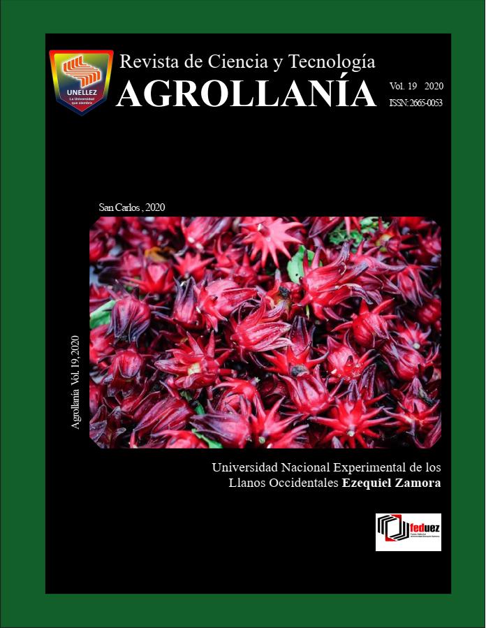Ver Vol. 19 (2020): Revista de Ciencia y Tecnología AGROLLANÍA